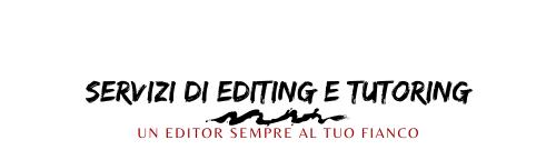 Servizi di editing e tutoring